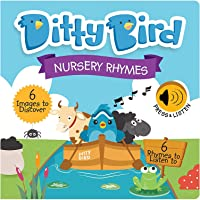 DITTY BIRD Baby Sound Books: Nursery Rhymes Musical Sound Book for Babies is The Perfect Toys for 1 Year Old boy and 1…
