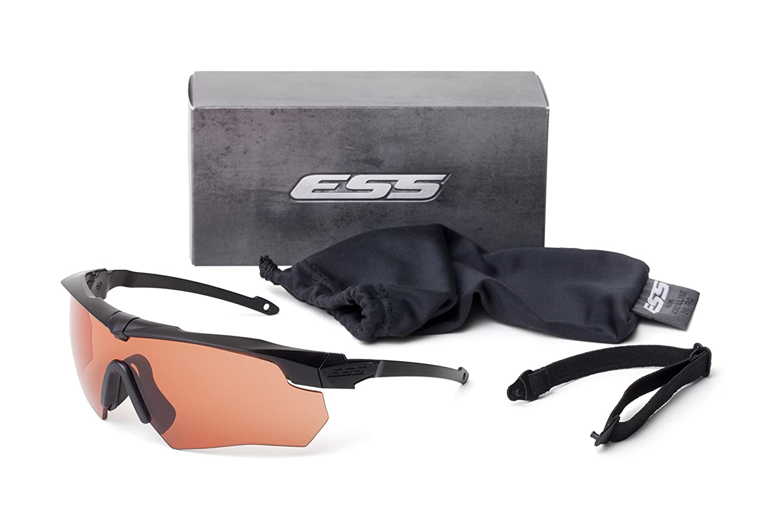 182b8107b41 ESS Eyewear Crossbow Suppressor One Kit Black  Amazon.co.uk  Sports    Outdoors