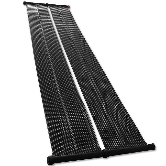 Estera solar piscina de 70x300 cm colector solar absorbedores solares calefactor solar calefacción para piscina: Amazon.es: Jardín