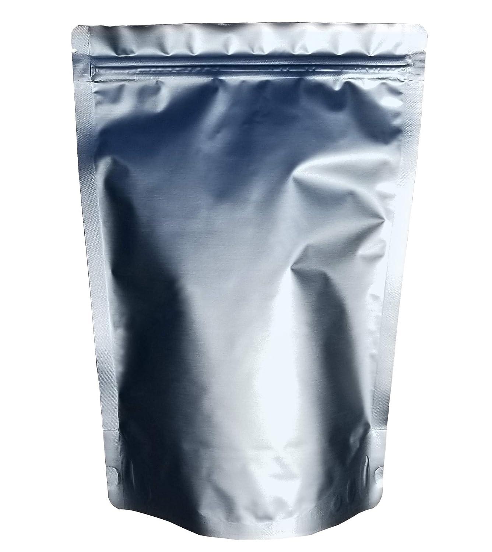2 Quart Ziplock Gusset 7 Mil Stand Up Mylar Pouch Bags & PackFreshUSA LTFS Guide (100)