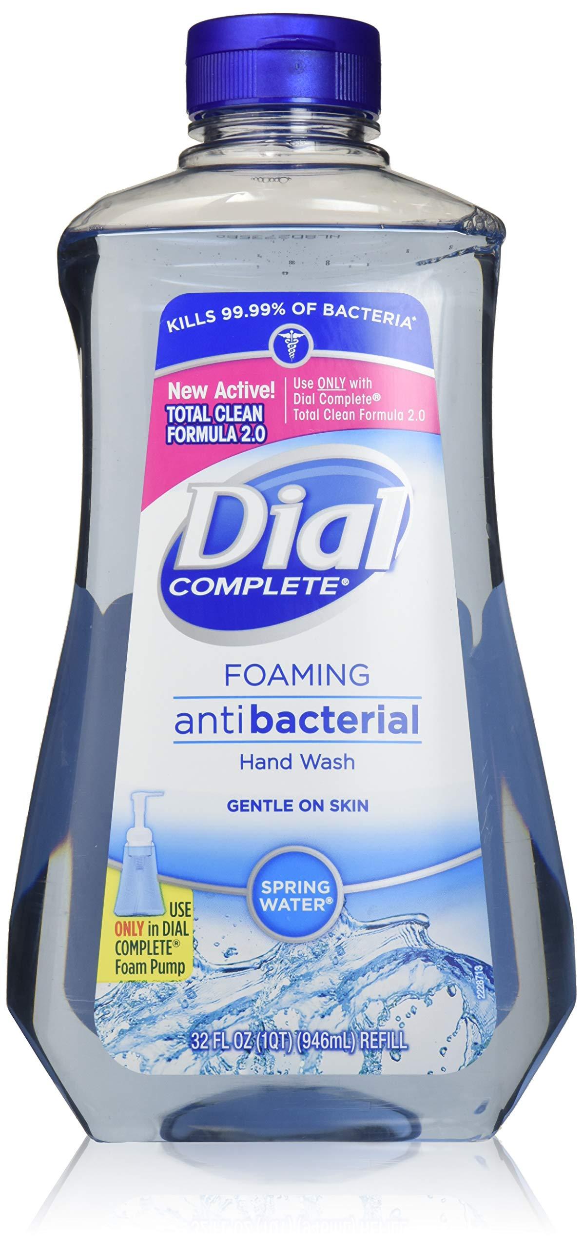 Amazon Com Dial 05400 7 5 Oz Spring Water Anti Bacterial