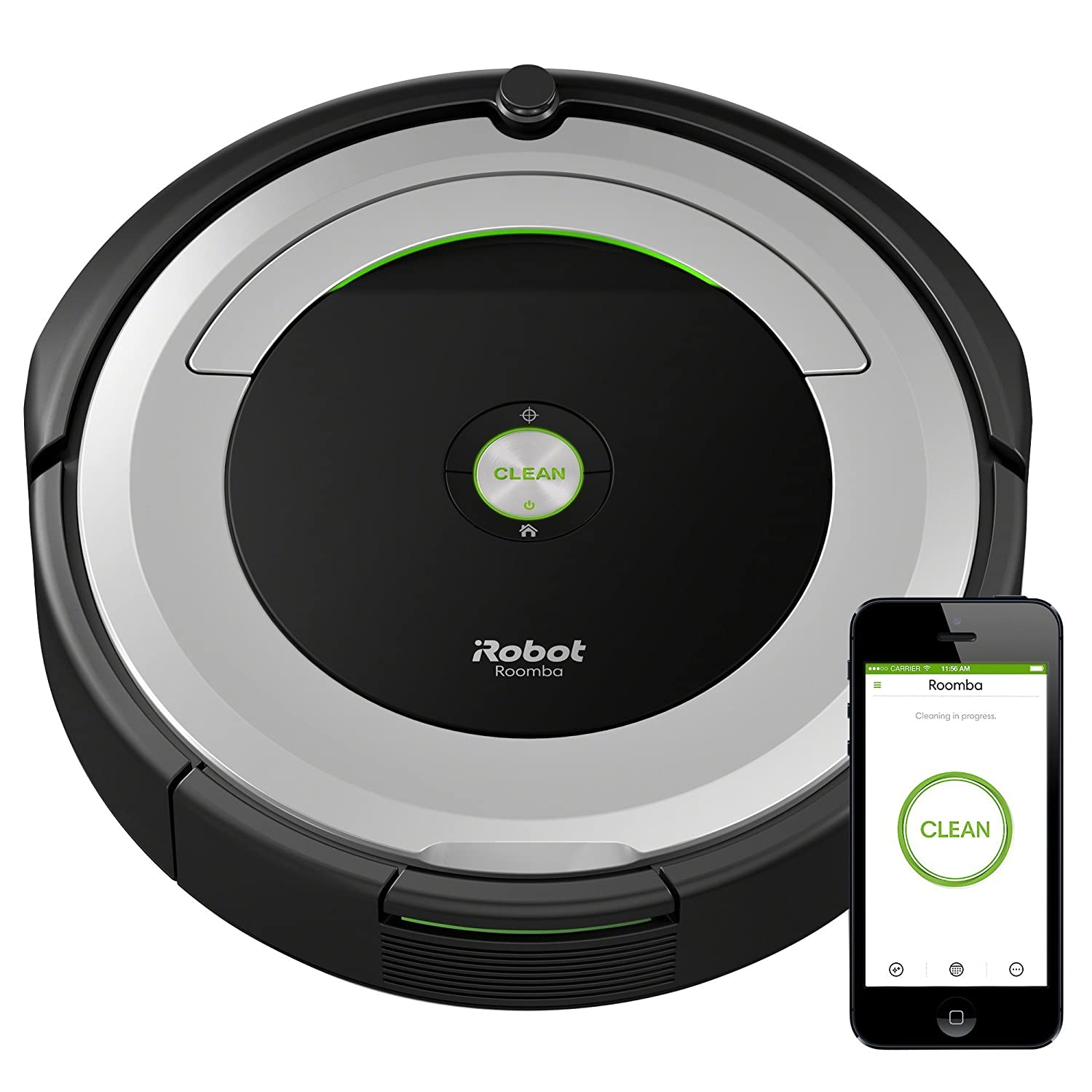 Amazon Echo - iRobot Roomba 690 Robot Vacuum