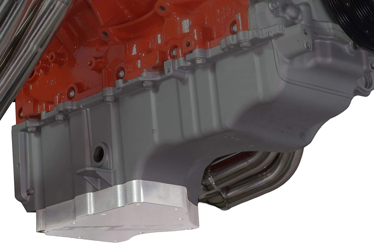 ICT Billet LT Truck Gen V Billet Lower Oil Pan L83 L86 Low Profile 2014-2018 Swap Extra Ground Clearance Designed and Manufactured in the USA bare aluminum 551120