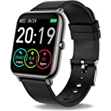 Smart Watch, Fitness Tracker with 1.4inch Full Touch Screen, Smartwatch for Men Women Sleep Monitor Step/Calorie Counter…