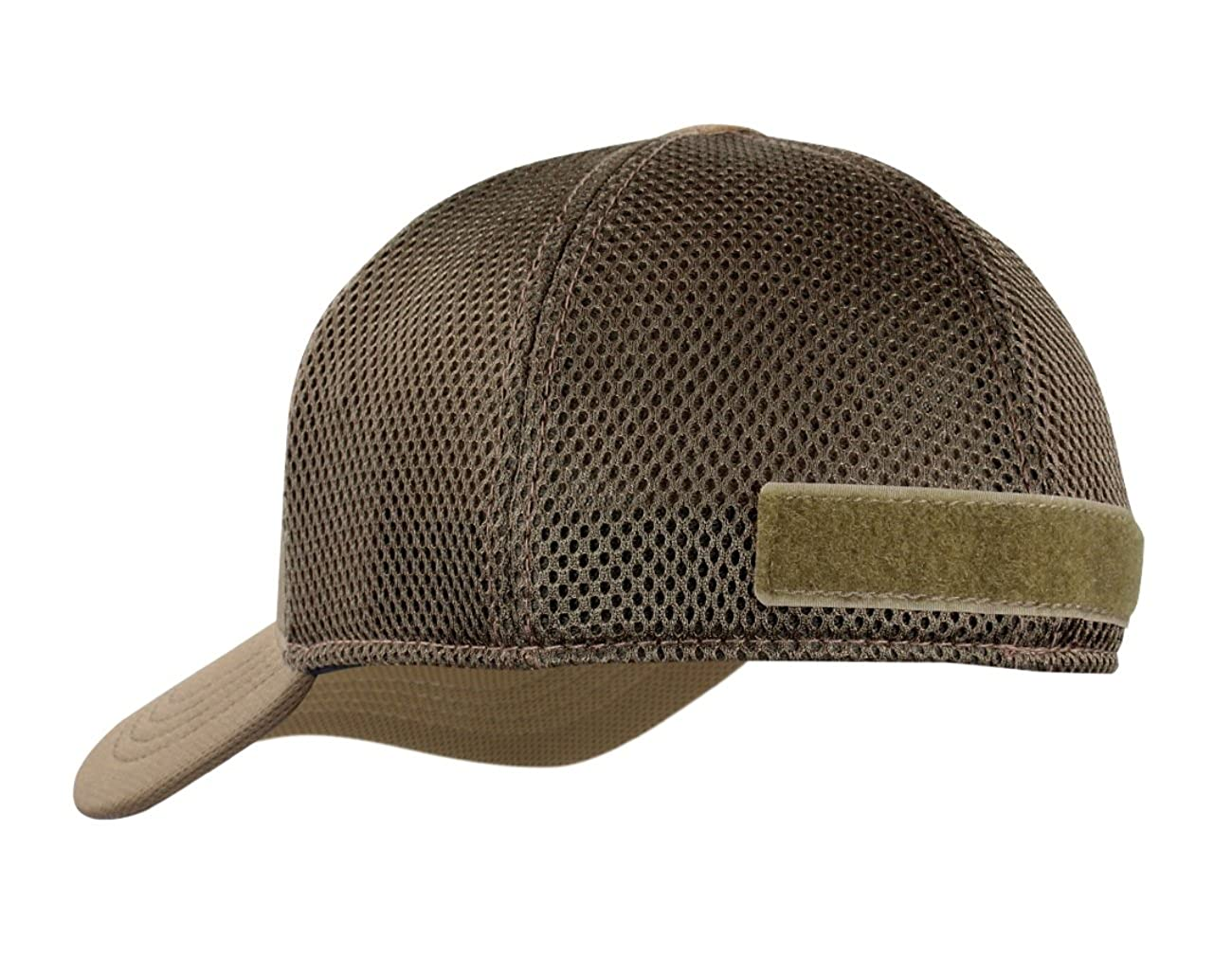 52b1c29a146 Active Duty Gear Condor Flex Mesh Cap  (Brown ) + PVC Flag ...