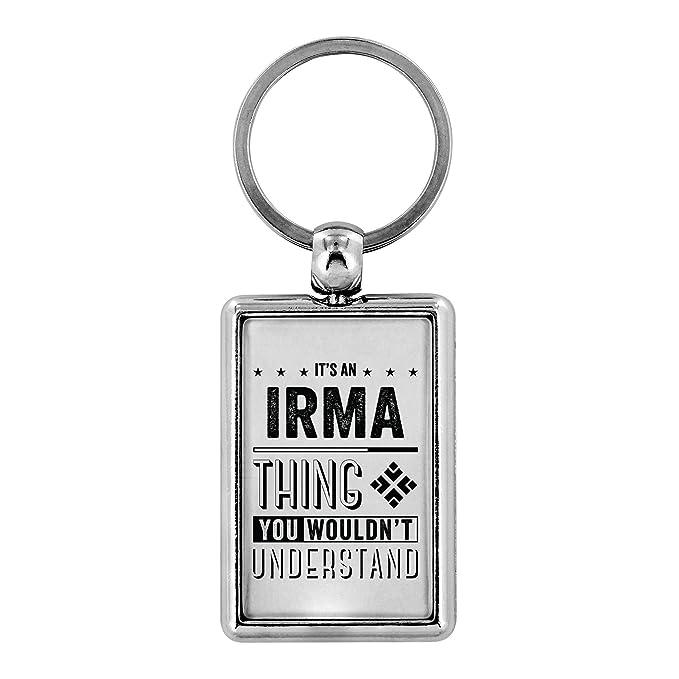 Amazon.com: Llaveros para mujer – Es un Irma Thing You ...