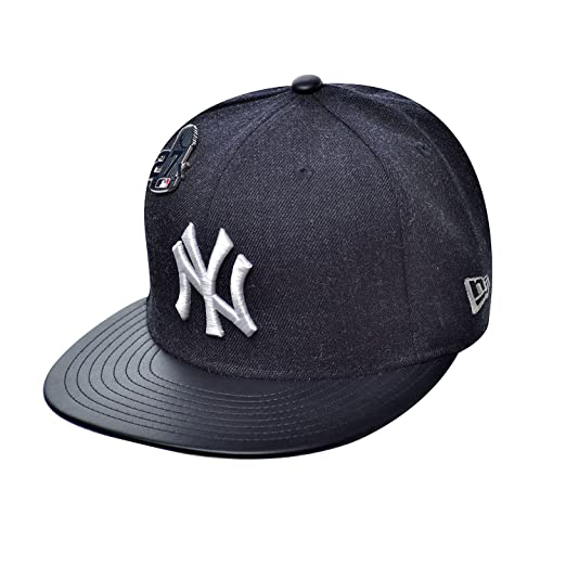 05fe148e79011 ... hot new era 59fifty hat new york yankees pin 27x trophy mlb navy blue  fitted cap