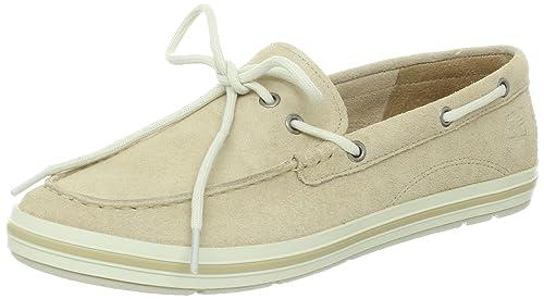 Timberland Ek Casco Bay Boat Shoe - Mocasines para mujer, color beige, talla 41.5: Amazon.es: Zapatos y complementos