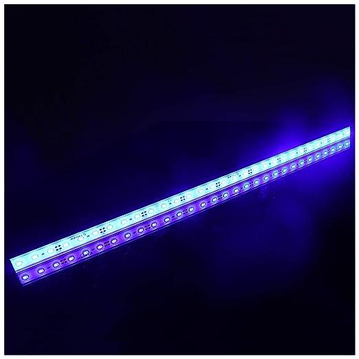 LTRGBW 5730 SMD 12V DC 18 LED super helle Aquarium LED-Streifen-Lichter wasserdichte Flut-Licht-Stab-Aluminium LED Linear Bel