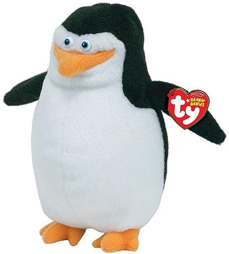 658be6aa2aa Amazon.com  Ty Beanie Baby - Skipper the Penguin (Madagascar Movie ...