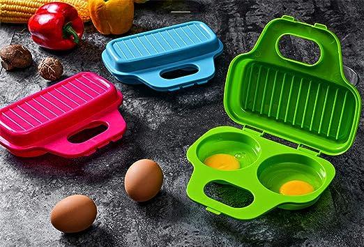 MZSC Egg Poacher Microondas Cocina De Huevo Huevo Hervido Cocina ...