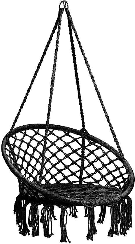 CCTRO Hammock Chair Macrame Swing - Best Retro Hammock Swing Chair