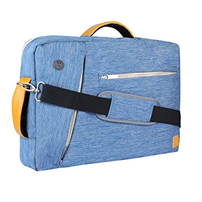 """Vangoddy Slate 17 Inch Laptop Bag Briefcase Backpack Tote for Lenovo ThinkPad 17 / Asus ROG / X751 / Dell Inspiron 17 / Razer Blade Pro Series 17.3"""" (Blue)"""