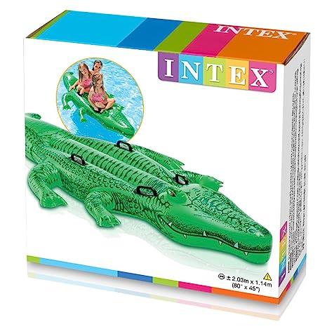 Intex 58535NP - Delfín hinchable acuático + 2 asas 175 x 66 cm