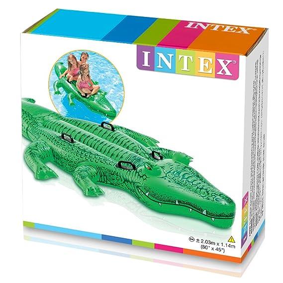 Intex 58535NP - Delfín hinchable acuático + 2 asas 175 x 66 cm ...