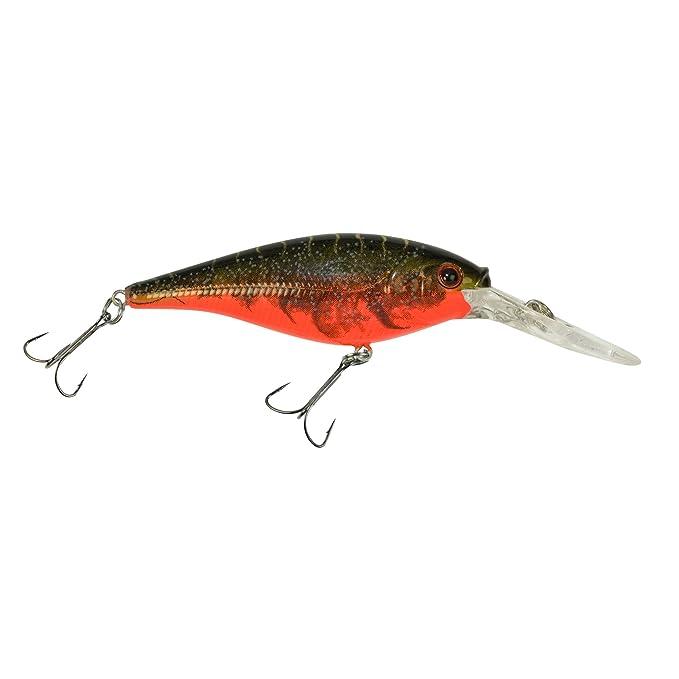 Berkley 1316740 Flicker Shad 9cm Depth 11/'s 13/'s Color Red Tiger Fishing Lure