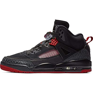 5549cd4b37c Nike Mens Air Jordan Spizike Basketball Shoes Black/Gym Red-Anthracite  315371-006