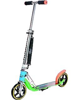 Amazon.com: HUDORA 205 Adult Folding Kick Scooter- 2 Big PU ...