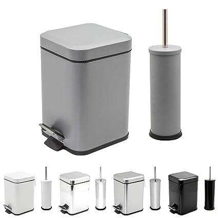 Matt Finish Harbour Housewares Bathroom Toilet Brush /& Holder Set