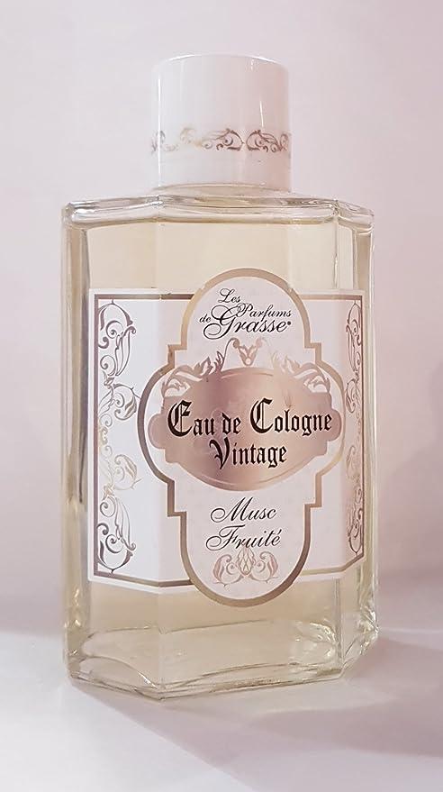 Les parfums de Grasse – agua de colonia Vintage – aroma a almizcle fruité – 250