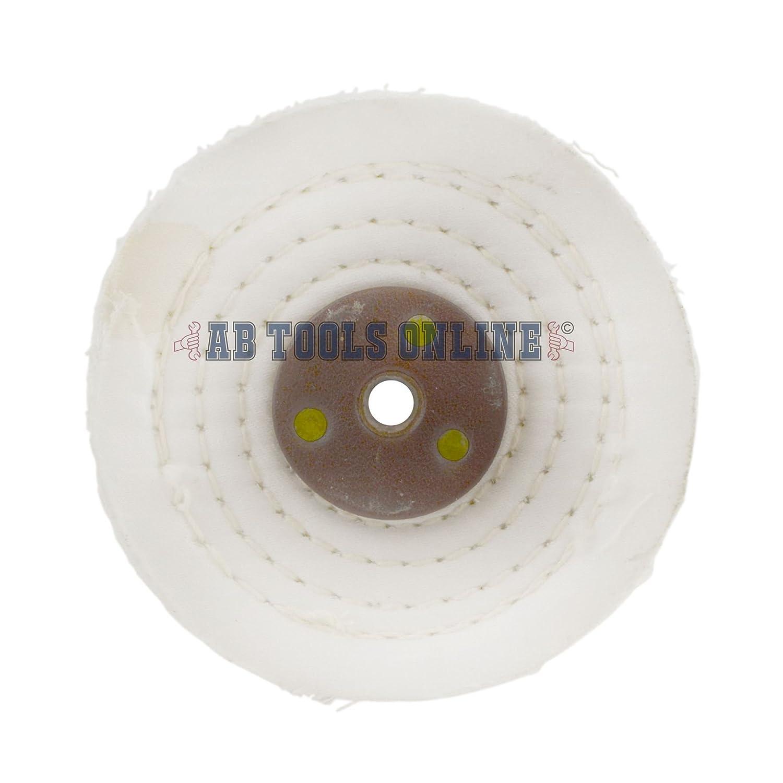 Mé tal cousu blanc prè s de polissage Polissage RDP 4' x 0.5' 1 L'article 2e é tape AB Tools
