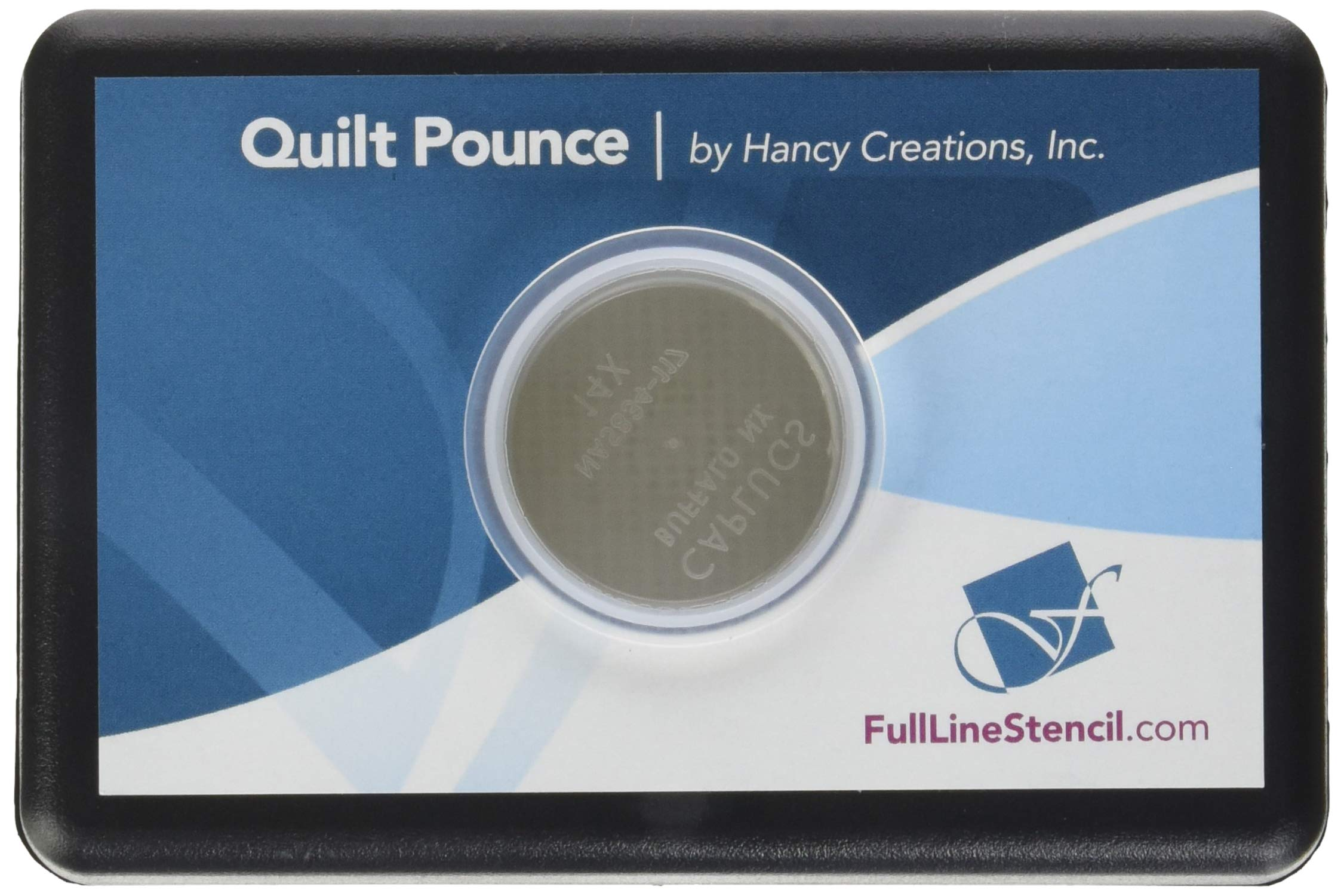 Hancy 2-Ounce Ultimate Quilt Pounce Pad with Chalk Powder, White by Hancy