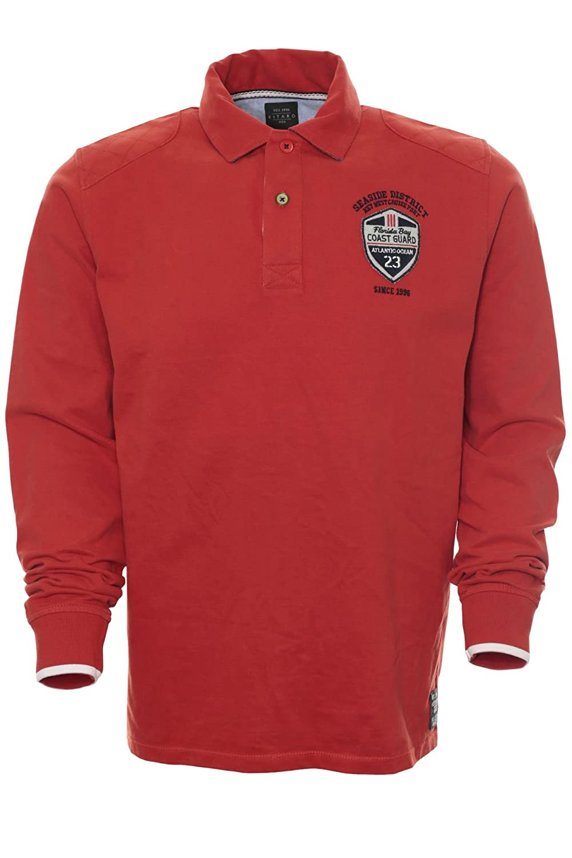 aca8939733de2d Tops, T-Shirts & Hemden Kitaro Polosweat Polo Shirt Sweat Herren Langarm  Baumwolle Plusgröße Übergröße Bekleidung