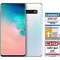 Samsung Galaxy S10 Smartphone (15.5cm (6.1 Zoll) 128GB interner Speicher, 8GB RAM, Prism White) - Deutsche Version