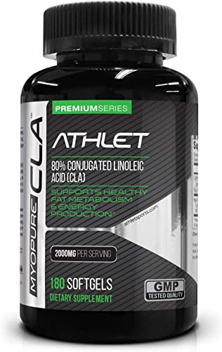 NutraBulk CLA Conjugated Linoleic Acid 1000mg Soft Gels – Made with Avocado and Olive Oil for Better Absorption – 1,000 Count