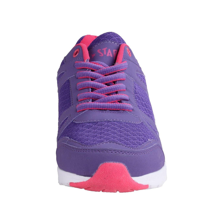 Air Star Damen Sportschuh Violett/Pink, Größe:39;Farbe:violett/pink
