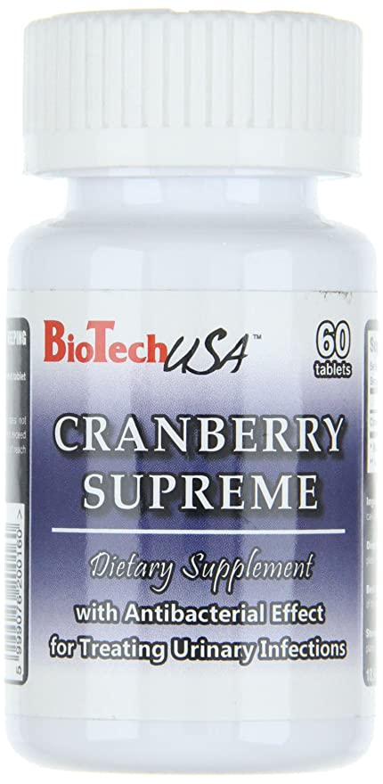 Biotech USA Cranberry Supreme Vitaminas y Minerales - 800 gr