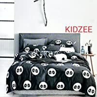 Roomiac 200TC Cotton Bedsheet with Pillow Cover