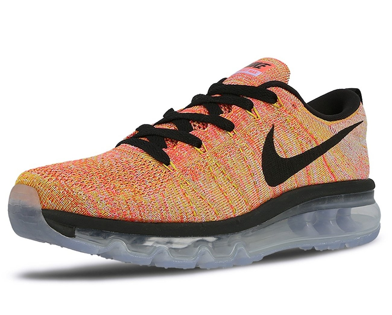 huge discount 71b97 94f09 Galleon - Nike Flyknit Air Max Womens Running Trainers 620659 Sneakers  Shoes (US 9.5, Aluminium Black Hot Punch 406)