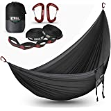 ETROL Hammock, Camping Double & Single Portable Hammock with 2 Tree Straps - Anti-Rollover/Bear up to 660lbs…