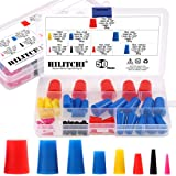 """Hilitchi 50 Pcs 1/16"""" to 5/8"""" Silicone Rubber Plug Kit Tapered Stopper Plugs Masking Tool for Powder Coating Painting Anodizi"""
