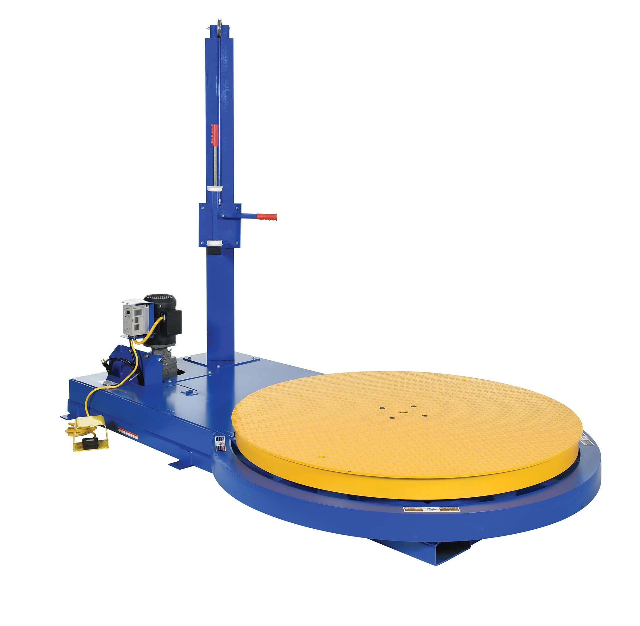Vestil SWA-54 Semi-Stretch Wrap Machine, 99'' Length, 60'' Width, 54'' Diameter, 83.625'' Height