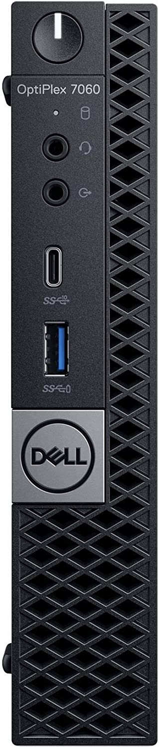 Dell OP7060MFFJW1Y4 OptiPlex 7060 Micro PC with Intel Core i7-8700T 2.4 GHz Hexa-core, 16GB RAM, 256GB SSD, Windows 10 Pro 64-bit