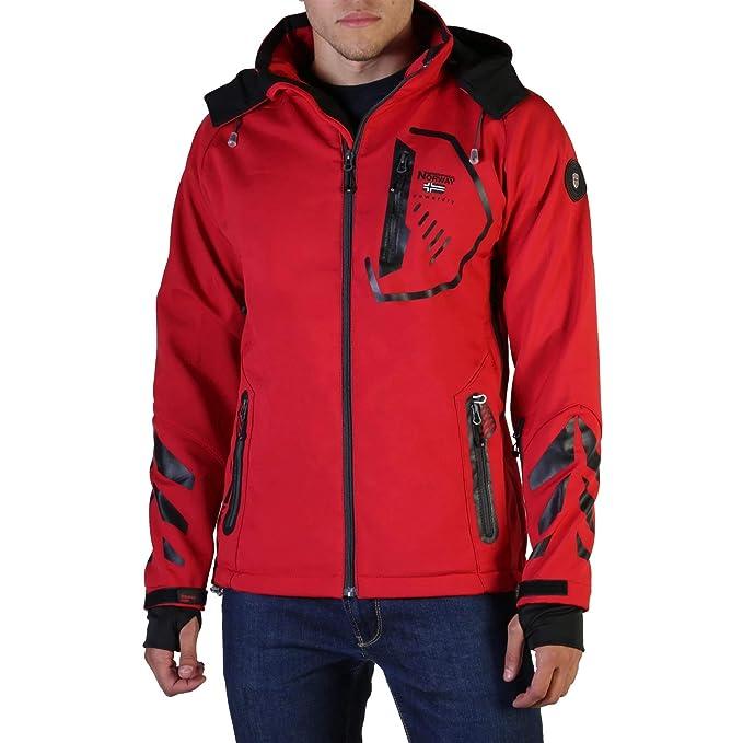 Geographical Norway, Giacca da sci, da uomo, in softshell, impermeabile, adatta per lo sport