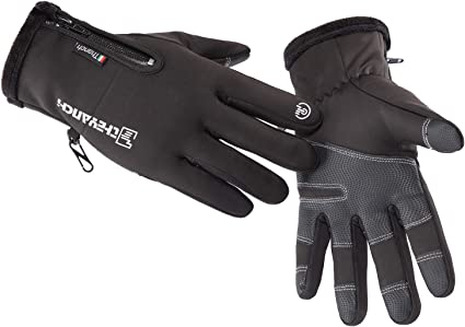 Ladies Winter Warm Windproof Anti-slip Thermal Touch Screen Driving Ski Gloves