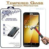 Screen Protector,Nacodex For Asus ZenFone 2 Laser ZE601KL 6.0 inch Premium Ballistic Tempered Glass Screen Protector (For Asus ZenFone 2 Laser ZE601KL)