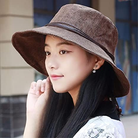 Amazon.com  XINQING-MZ Hat the girl breathable beaded visor hats are cool  hat beach hat elderly cap mother cap wife Cap  Sports   Outdoors 7568de28172