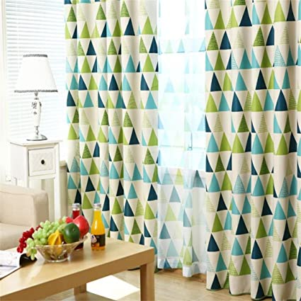 TAOtTAO Válvula de gasa para cortinas con diseño de hojas de ...