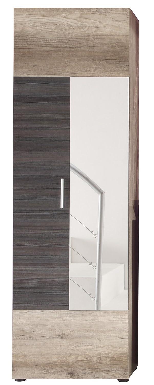 trendteam smart living Garderobe Garderobenpaneel Polo, 50 x 191 x 26 cm in Eiche Monument Dekor 1406-440-58