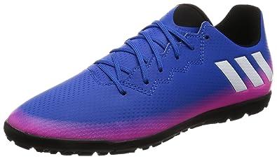 adidas Boys   Messi 16.3 Tf J Football Boots Blue  Amazon.co.uk ... 8b69bcc53caf4
