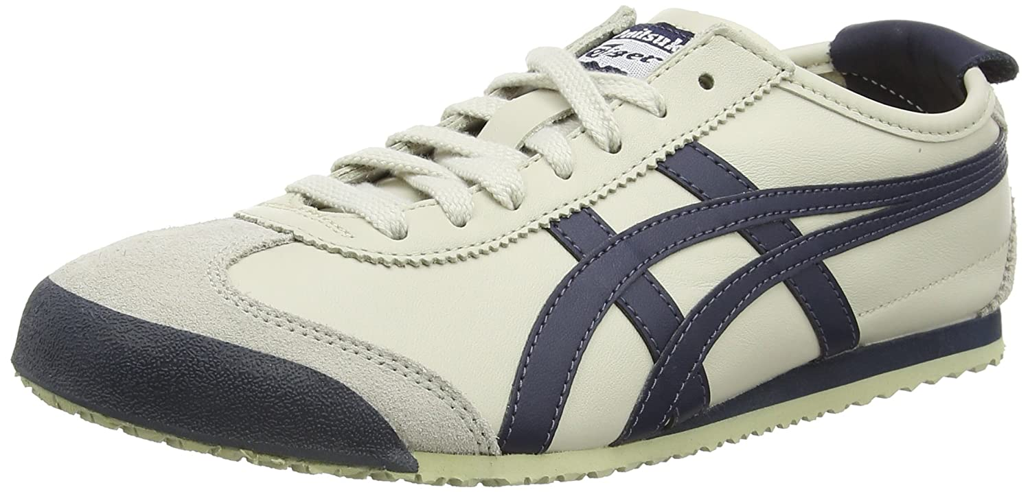 Onistuka Tiger Herren Onitsuka Tiger Mexico 66 Low-Top  48 EU|Wei? (Birch/India Ink/Latte 1659)