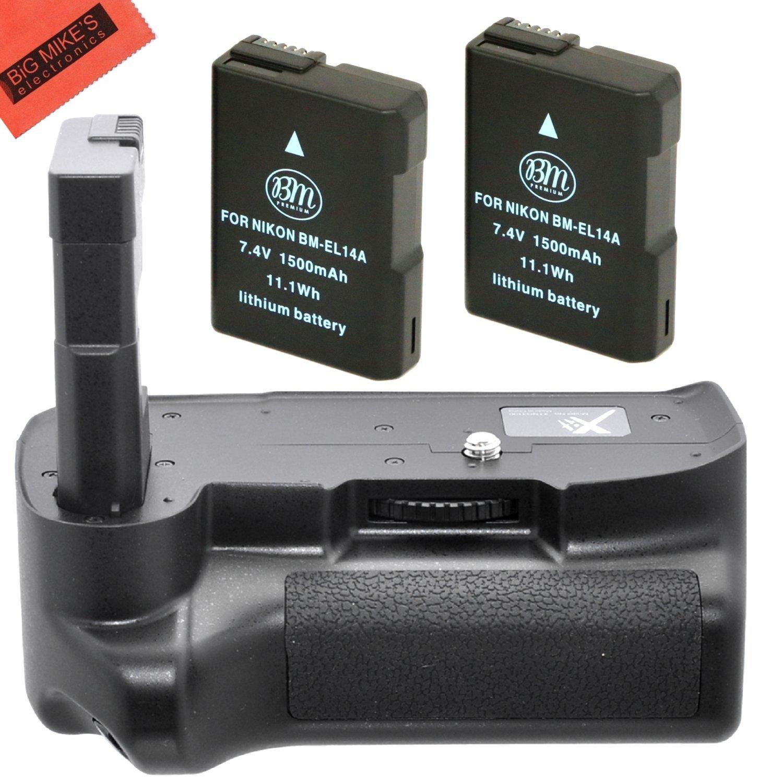 Big Mike es empuñadura de batería para Nikon D5100 D5200 D5300 ...