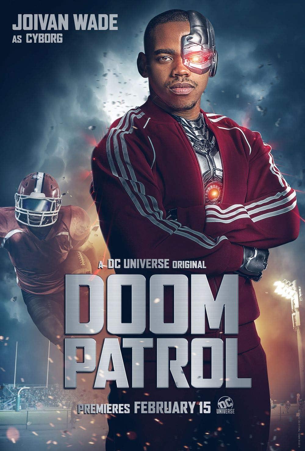 Amazon Com Doom Patrol Movie Poster 18 X 28 By