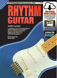 Popular Brand Progressive Beginner Rhythm Guitar Book & Cd Sheet Music & Song Books Musical Instruments & Gear