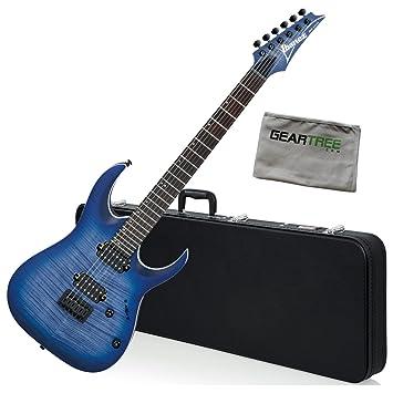Ibanez rga42fmblf RGA estándar guitarra eléctrica - azul Burst ...