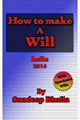 How to make a Will in India Kindle Edition